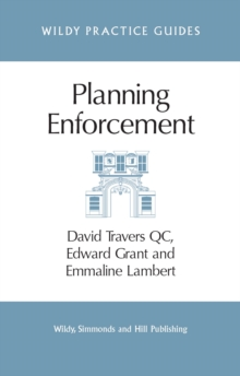 Planning Enforcement, Paperback / softback Book