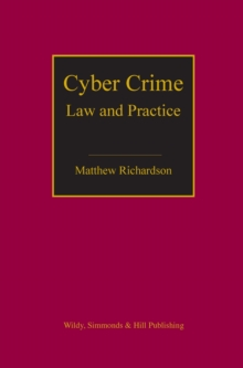 Cyber Crime : Law and Practice, Hardback Book