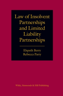 Law of Insolvent Partnerships and Limited Liability Partnerships, Hardback Book