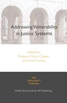 Addressing Vulnerability in Justice Systems, Hardback Book