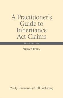 A Practitioner's Guide to Inheritance Act Claims, Hardback Book