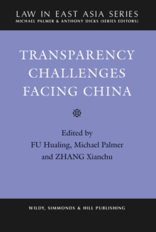 Transparency Challenges Facing China, Hardback Book