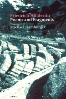 Poems and Fragments, Paperback Book