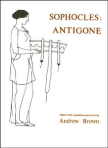 Sophocles: Antigone, Paperback / softback Book