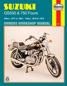 Suzuki Gs550 (77 - 82) & Gs750 Fours (76 - 79), Paperback / softback Book