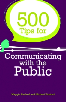 500 Tips for Communicating with the Public, EPUB eBook