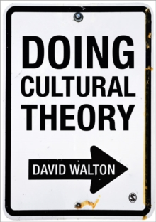 Doing Cultural Theory, Paperback Book