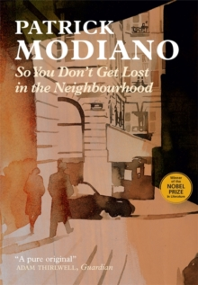 So You Don't Get Lost in the Neighbourhood, Paperback / softback Book
