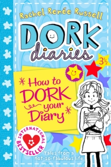 Dork Diaries 3 1/2: How to Dork Your Diary, Paperback Book