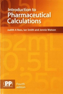 Introduction to Pharmaceutical Calculations, Paperback / softback Book