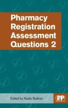 Pharmacy Registration Assessment Questions 2, Paperback Book