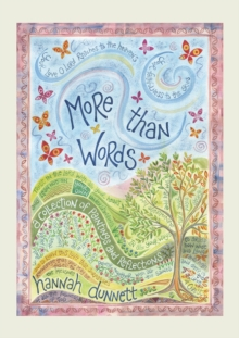 More Than Words : A collection of paintings and reflections, Hardback Book