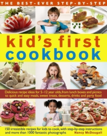 Best Ever Step-by-Step Kid's First Cookbook, Paperback Book