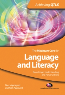 The Minimum Core for Language and Literacy: Knowledge, Understanding and Personal Skills, PDF eBook