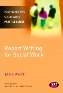 Report Writing for Social Workers, Paperback Book