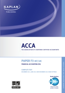 ACCA F3 Financial Accounting (FA) UK & Int, EPUB eBook