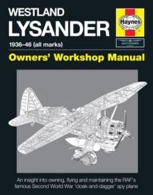 Westland Lysander Manual, Hardback Book