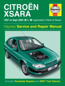 Citroen Xsara Service And Repair Manual, Paperback Book