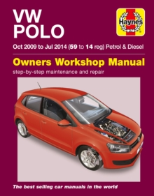 VW Polo Petrol And Diesel (Oct 09 - Jul 14) 59 To 14, Paperback / softback Book
