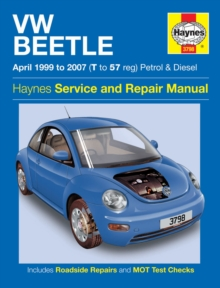 VW Beetle Petrol & Diesel Service And Repair Manua, Paperback / softback Book