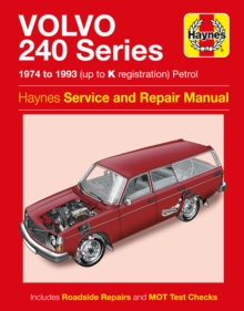 Volvo 240 Series, Paperback / softback Book