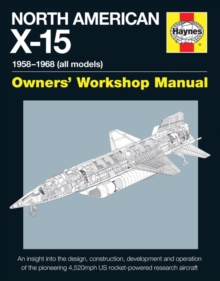 North American X-15 Manual, Hardback Book