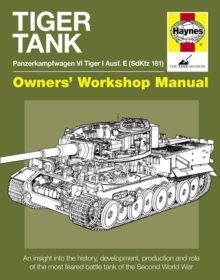 Tiger Tank Manual, Hardback Book