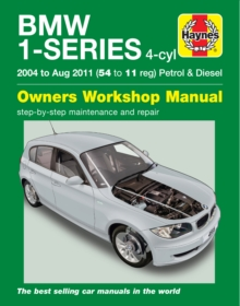 BMW 1-Series 4-Cyl Petrol & Diesel 04-11, Paperback / softback Book