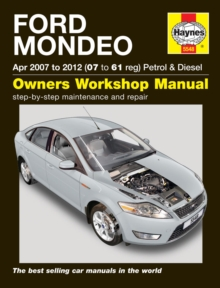Ford Mondeo, Paperback / softback Book