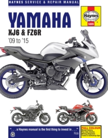 Yamaha XJ6 & Fz6R ('09 To '15), Paperback / softback Book