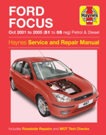 Ford Focus 01-05, Paperback Book