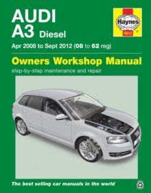 Audi A3 (Apr '08 - Sept '12) 08 To 62, Paperback Book