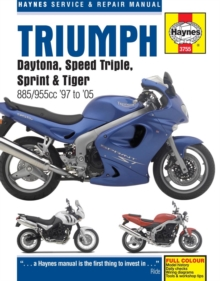 Triumph Daytona, Speed Triple Service and Repair Manual, Paperback Book