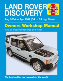 Land Rover Discvoery Diesel, Paperback Book