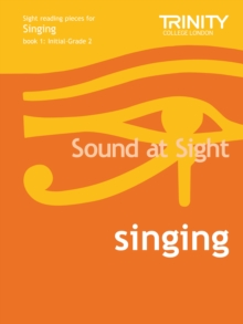 Sound At Sight Singing Book 1 (Initial-Grade 2), Sheet music Book