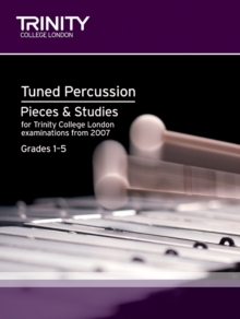 Percussion Exam Pieces & Studies Tuned Percussion: Grades 1-5, Sheet music Book