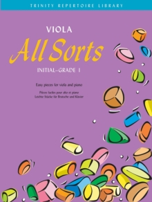 Viola All Sorts Initial-Grade 1, Sheet music Book
