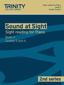 Sound At Sight (2nd Series) Piano Book 3 Grades 5-6, Sheet music Book