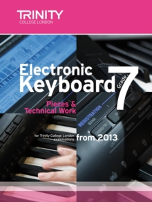 Electronic Keyboard: Pieces & Technical Work Grade 7, Sheet music Book