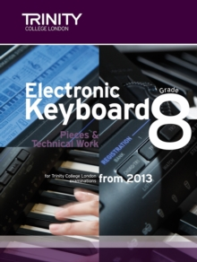 Electronic Keyboard: Pieces & Technical Work Grade 8, Sheet music Book
