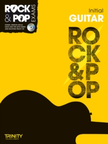 Trinity Rock & Pop Exams: Guitar Initial Grade, Mixed media product Book