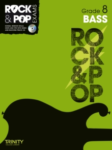 Trinity Rock & Pop Exams: Bass Grade 8, Mixed media product Book