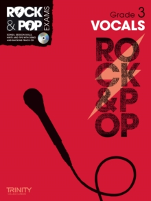 Trinity Rock & Pop Exams: Vocals Grade 3, Mixed media product Book