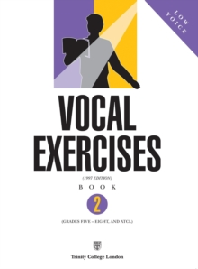 Vocal Exercises : Low Voice Book 2, Paperback / softback Book