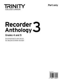 Recorder Anthology (Grades 4-5) : Part Only Book 4, Paperback Book