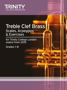 Treble Clef Brass Scales 1-8 from 2015, Sheet music Book