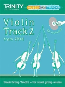 Small Group Tracks (Track 2) Violin, Sheet music Book