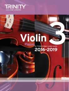 Violin Exam Pieces Grade 3 2016-2019, Sheet music Book