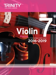 Violin Exam Pieces Grade 7 2016-2019 (Score & Part), Paperback Book