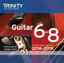 Guitar CD Grades 6-8 2016-2019, CD-Audio Book